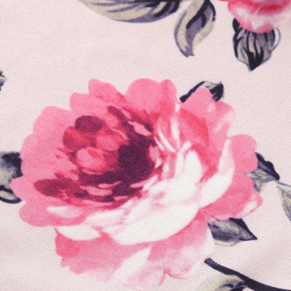 DAY8 V/êtements B/éb/é Fille Hiver Ensemble B/éb/é Fille Naissance Pyjama B/éb/é Fille Mode Combinaison B/éb/é Fille Automne Body Jumpsuit Grenouill/ère Barboteuse Combi Fille Fleur