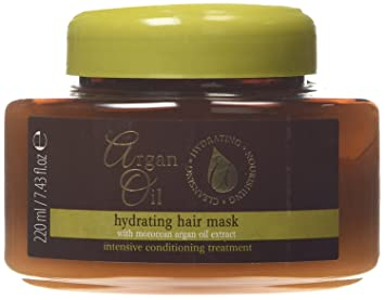 Argan Oil Hydrating Hair Mask With Moroccan Argan Oil Extract 220 Ml