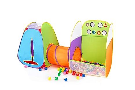 alvantor kids fun toss it game zone 3 in 1 pop play tents indoor