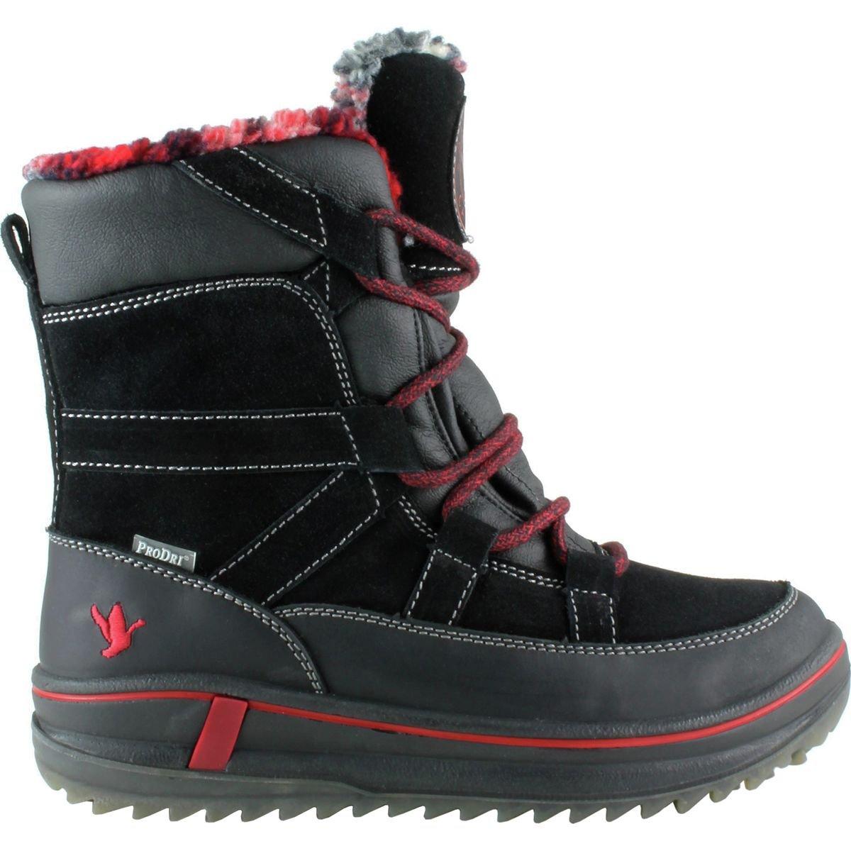 Santana Canada レディース B01LW15MWC Black Crazy Horse Leather/Suede 8 B(M) US