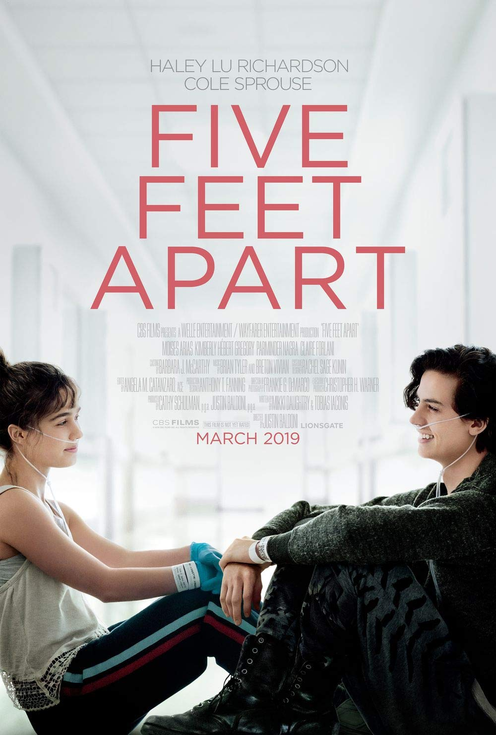 Image result for five feet apart poster