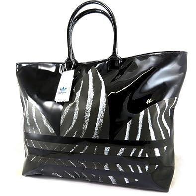 0a059f6712 Adidas [L6537] - Sac créateur 'Adidas' noir vernis: Amazon.fr ...