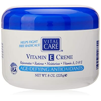 Vital Care Vitamin E Crème, (8 Fl. Oz), A Complete Skin Care with Age- Defying Antioxidants for Men and Women: Beauty [5Bkhe0302718]