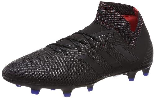 the best attitude 0fe46 be2c0 adidas Nemeziz 18.3 Fg Scarpe da Calcio Uomo, Nero Core Black Football  Blue, 44 2 3 EU  Amazon.it  Scarpe e borse