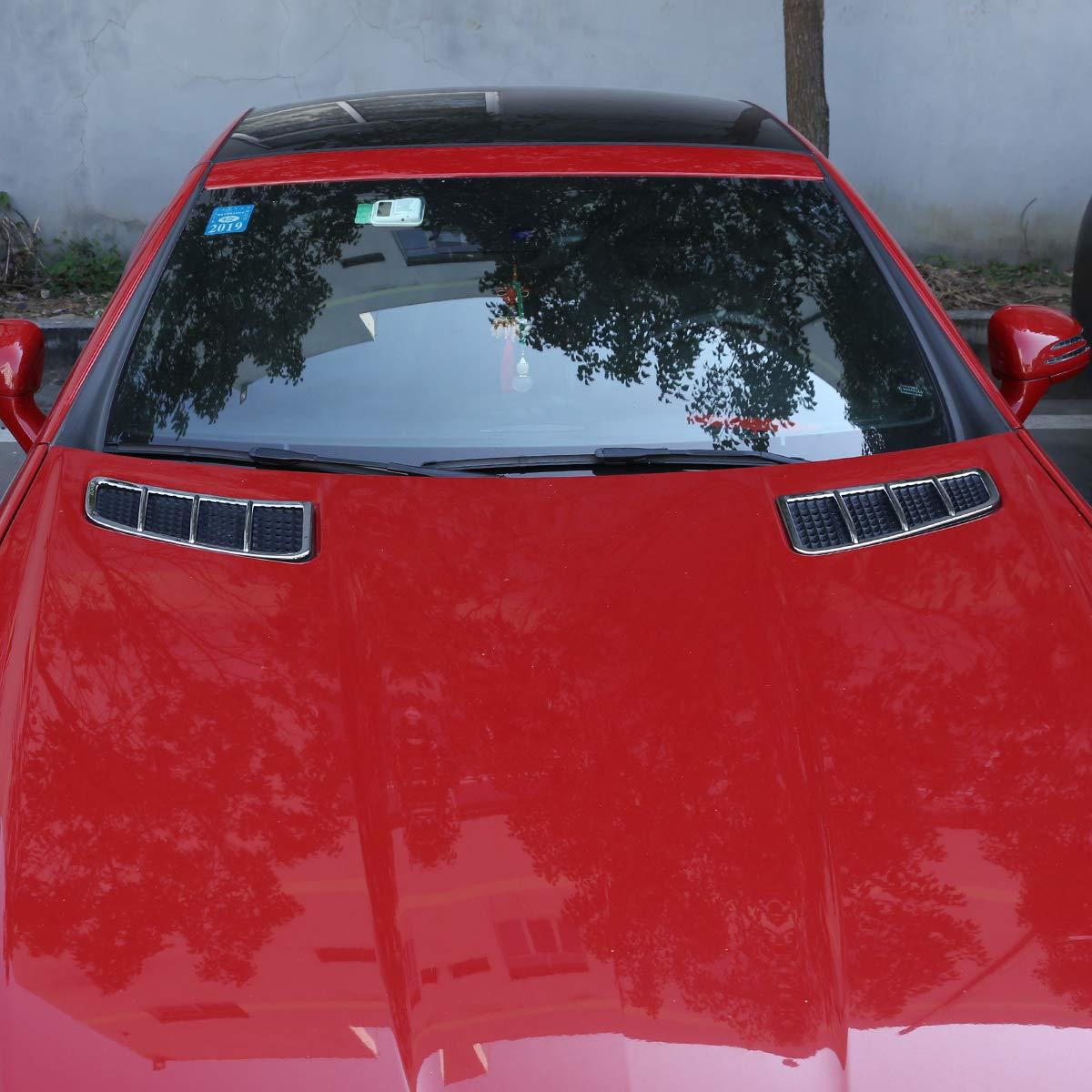 DIYUCAR Cadre d/écoratif en ABS chrom/é pour sortie dair de voiture pour MB Benz Classe SLK R172 SLK200 250 350 2011 2015 Accessoires