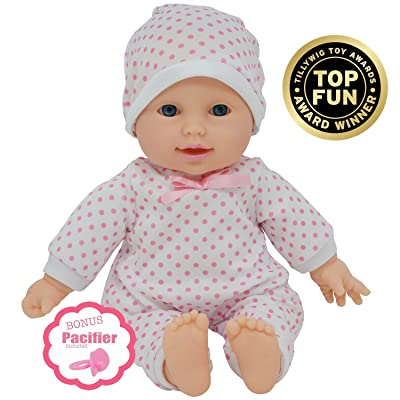 "11 inch Soft Body Doll in Gift Box - Award Winner & Toy 11"" Baby Doll (Caucasian): Toys & Games"