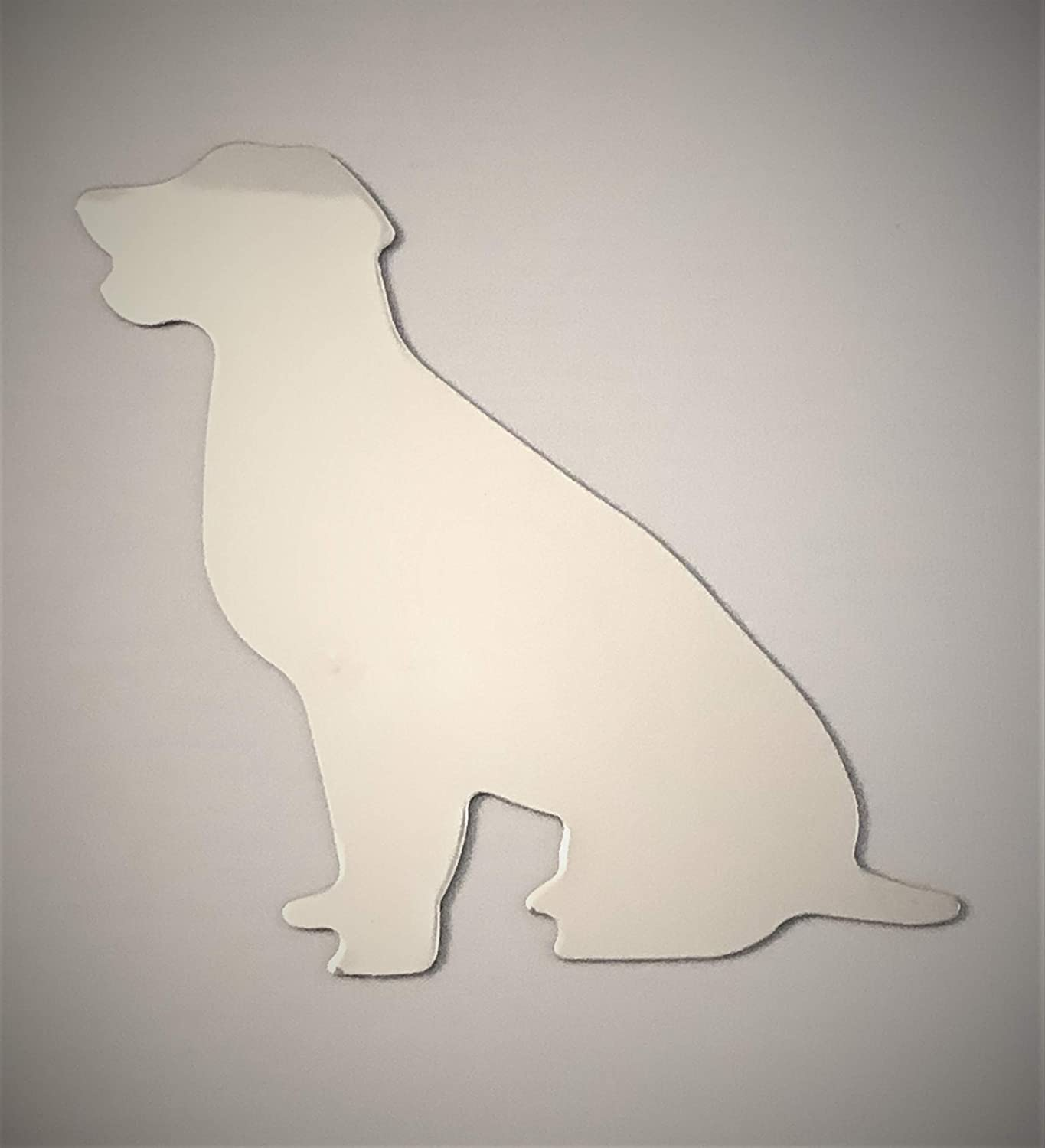Dog Stylish Stickers for Car or Metal Surface ChromeVillage Magnetic Car Decal Angel Dog Cat Cross Chrome Reflective Magnetic Car Decals