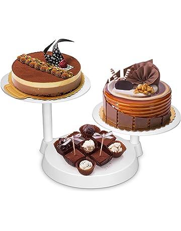 Para tartas Tocadiscos, Uten decoración de pasteles expositor para decoración de pasteles para hornear herramientas