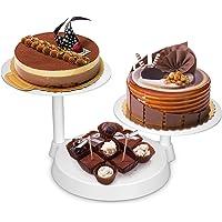 Uten Bandejas para Tartas Plástico Soporte de Torta