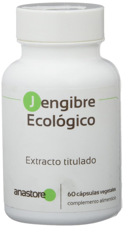 Anastore Jengibre Ecológico 375 mg - 60 Cápsulas: Amazon.es: Salud y cuidado personal