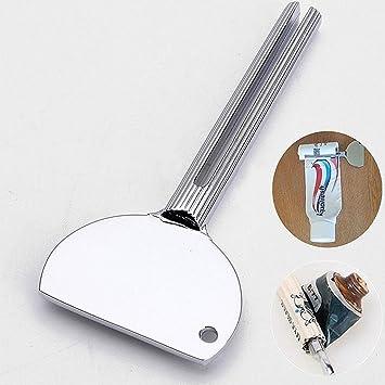 """Winwillc Exprimidor de tubos de pasta de dientes, de metal, diseño de """""""