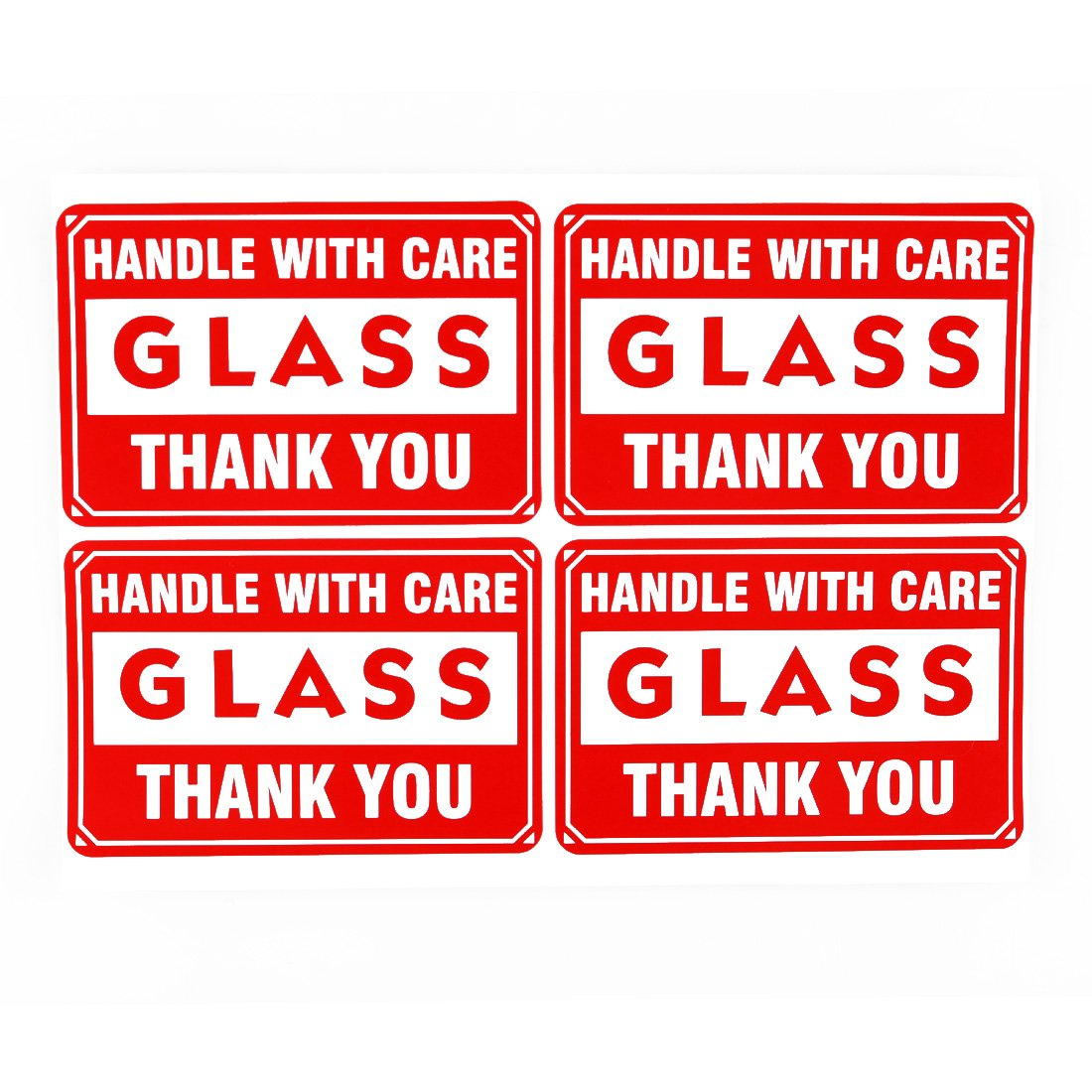 picture about Fragile Glass Labels Printable named 100 1x3\