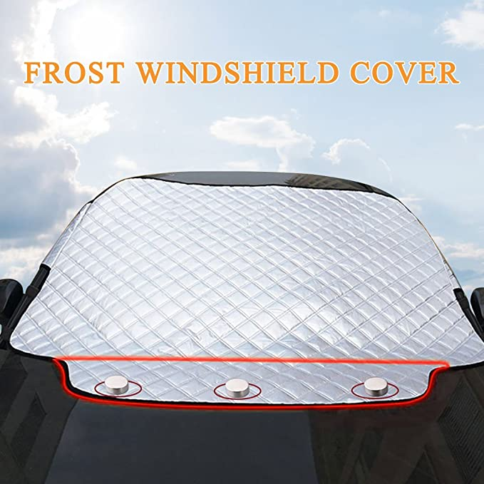 Amazon.es: Aodoor Protector para Parabrisas, Protector de Parabrisas Coche Antihielo y Nieve proteja Bien el Parabrisas del vehículode la Escarcha y la ...
