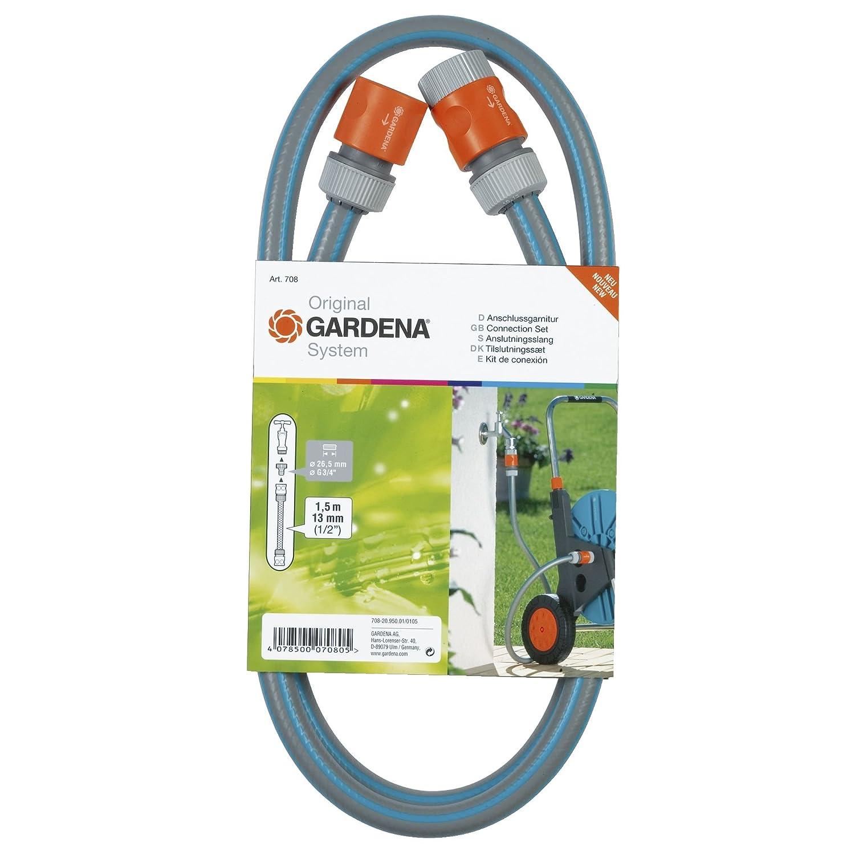 Gardena 0708-20 Anschlussgarnitur 1,3 cm (0,5 Zoll) Comfort-Schlauch