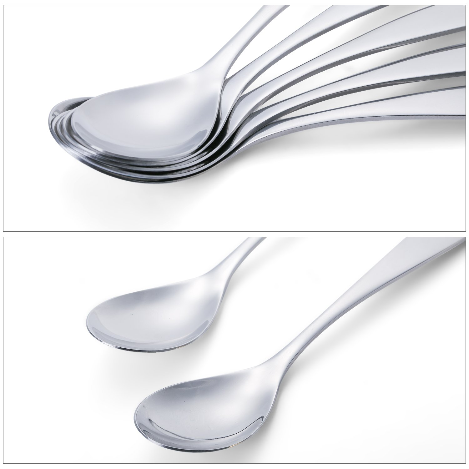 144  BOUILLON SPOONS WINDSOR FLATWARE 18//0 STAINLESS FREE SHIPPING US ONLY