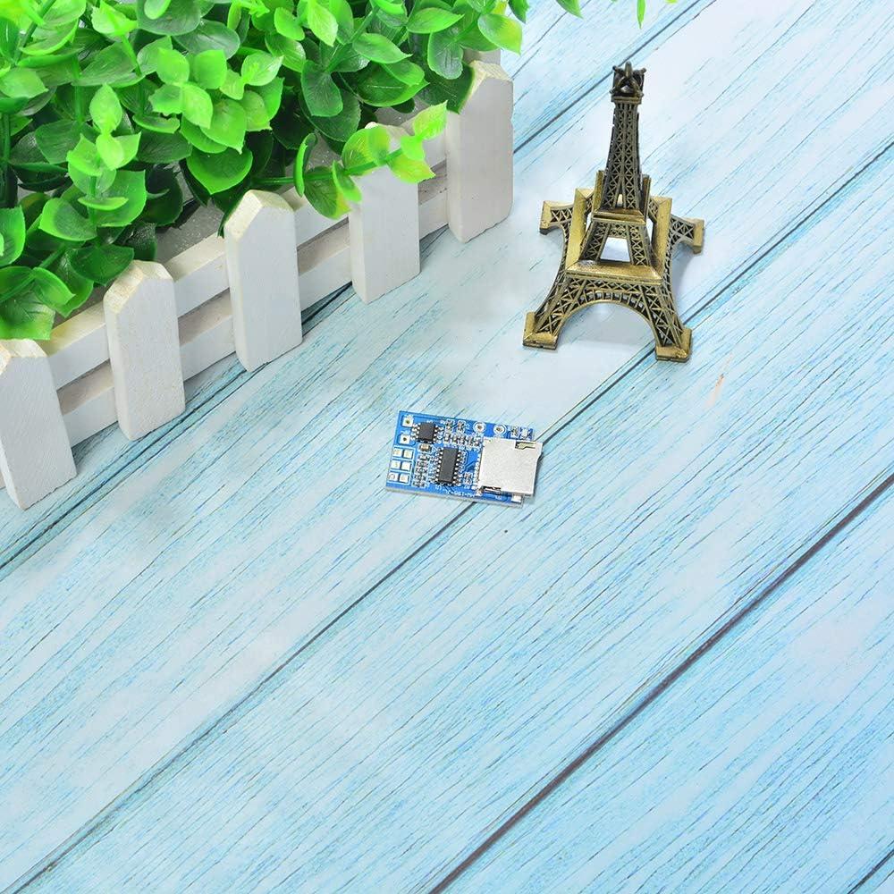 Comimark 2Pcs GPD2846A TF Card MP3 Decoder Board 2W Amplifier Module for Arduino