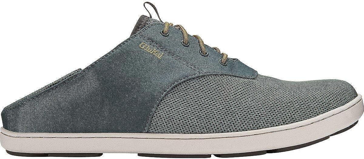Fashionable OLUKAI Men's Nohea Moku No Tie Shoes Wind Grey/Wind Grey ryFtq9