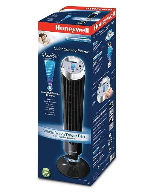 Amazon com  Honeywell HY 280 QuietSet Whole Room Tower Fan  Home   Kitchen. Amazon com  Honeywell HY 280 QuietSet Whole Room Tower Fan  Home