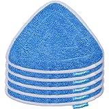 KEEPOW 5 Pezzi di Ricambio per Spazzatrici per Aspirapolveri Vileda Steam 100ºC, Colore Blu