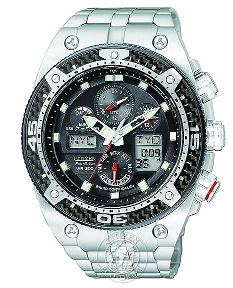 Citizen JY0075-54E - Reloj para hombres, correa de acero inoxidable: Amazon.es: Relojes