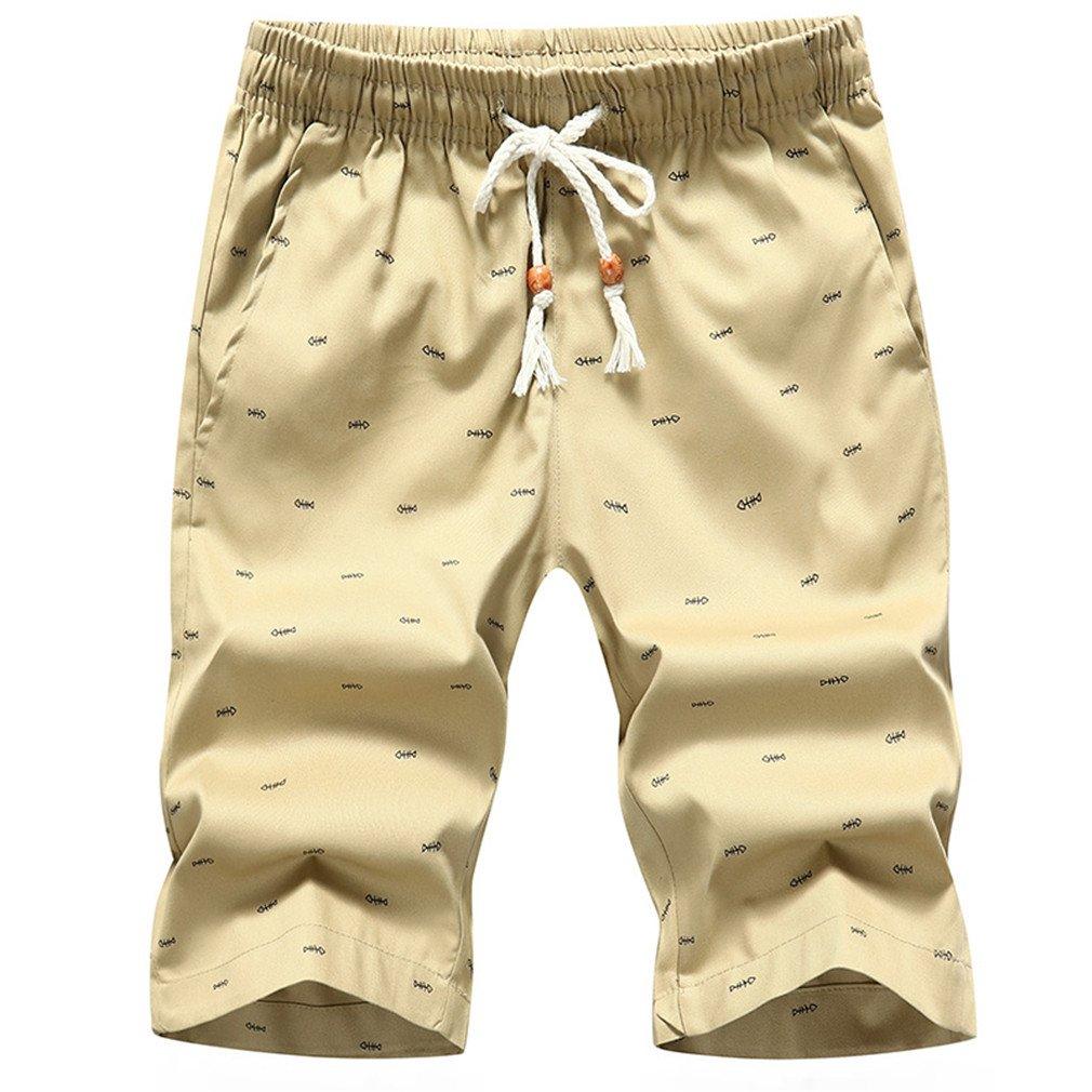 Shorts Male Bottoms Men's Boardshorts Comfortable Shorts 73 Khaki XXXL