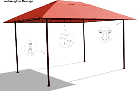 Grasekamp - Cenador de Calidad Desde 1972, Amalfi Flex, 3 x 4 m ...