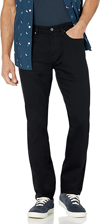 Generic Mens Fashion Straight-Fit Washed Stretch Chino Pant