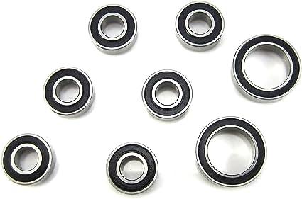 10x15x4mm Axle Bearing Set BU 5x11x4mm TRB RC Wheel AX10 Wraith Axial SCX10
