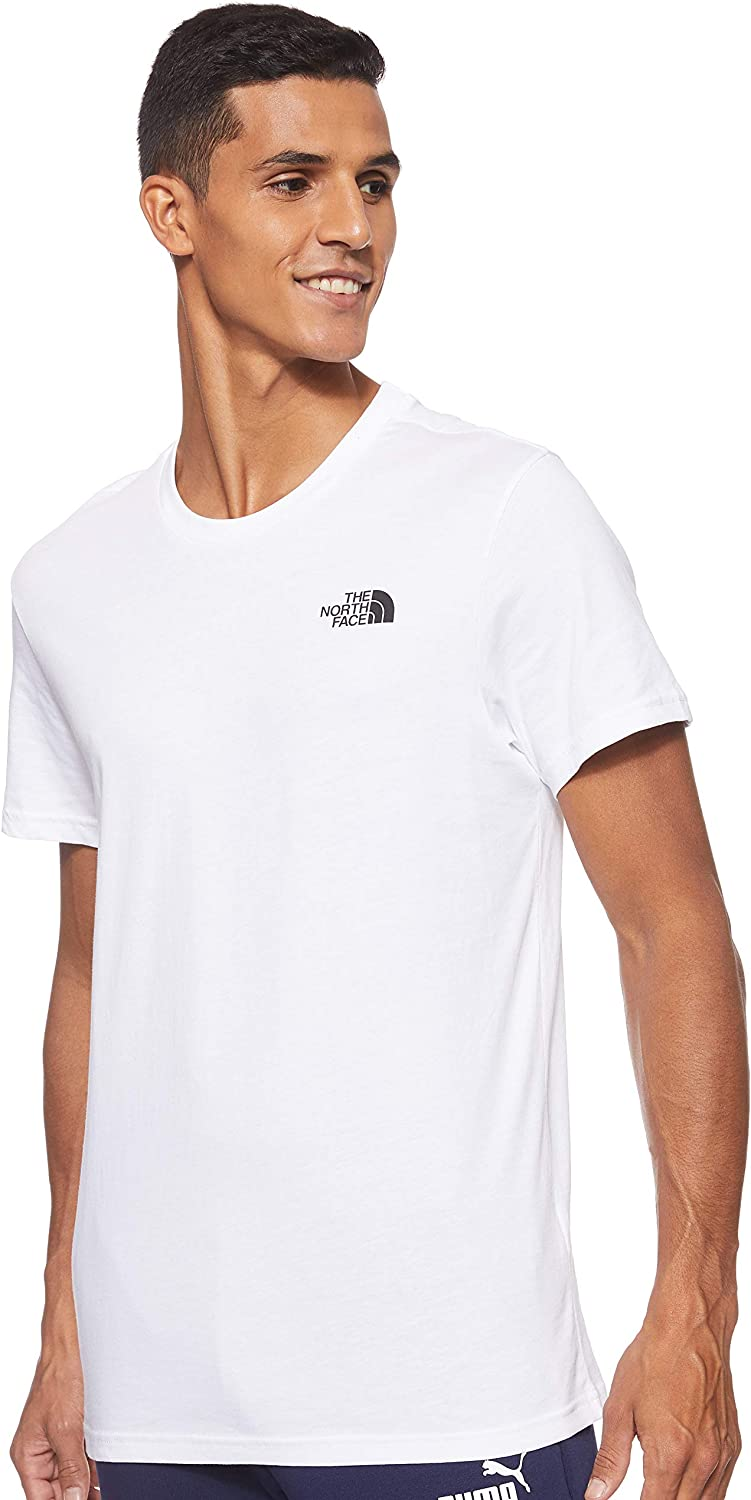 The North Face M S/S Simple Dome tee - Camiseta de Manga Corta para Hombre