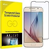JETech Protector de Pantalla para Samsung Galaxy S6, Vidrio Templado