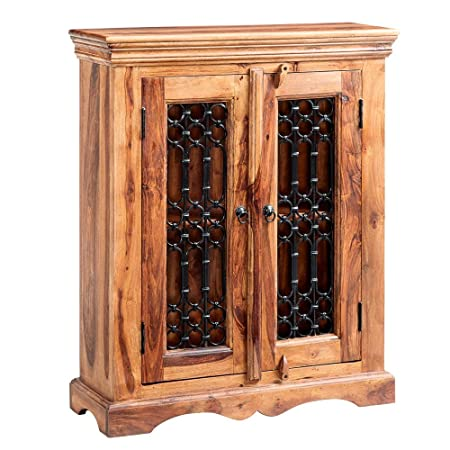 Rauchi Indian Rosewood Furniture Cd Dvd Cabinet Case With Double