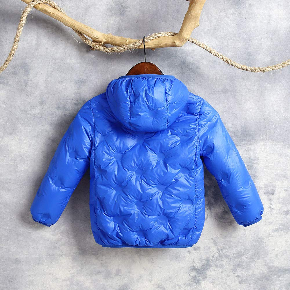 Lurryly❤Unisex Jackets,Boys Girls Winter Clothes Outfit Outwear Warm Coats Cloak Hooded for 0-7 T