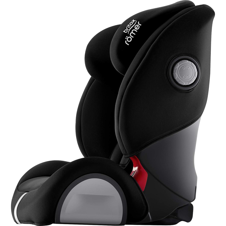COSMOS BLACK EVOLVA 1-2-3 SL SICT Nero Seggiolino auto Con isofix /& sict Britax R/ömer Gruppo 1//2//3/ 9//–/36/kg