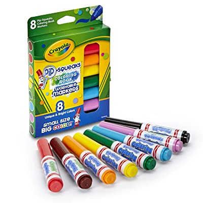 Crayola Pip-Squeaks Washable Markers (58-8704): Toys & Games