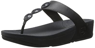 72bcdb857 Fitflop Women s Petra Leather Flip Flop
