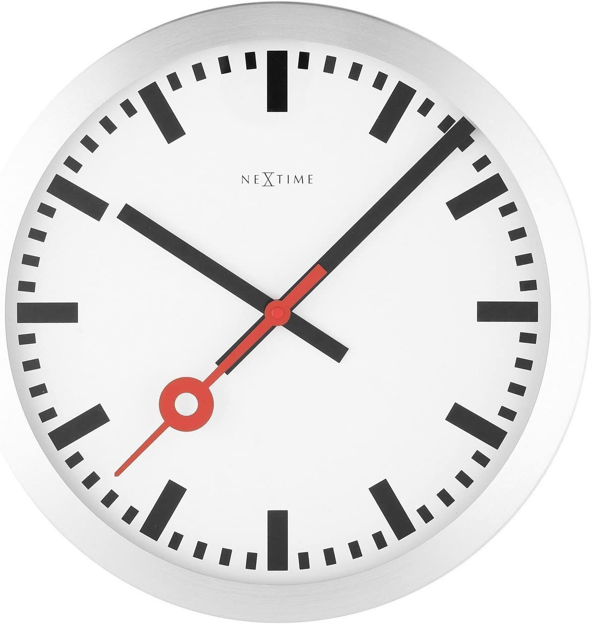NeXtime Reloj de pared - Estación de trenes