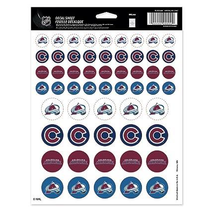 a2138f30 Amazon.com : Wincraft Colorado Avalanche Official NHL 8.5