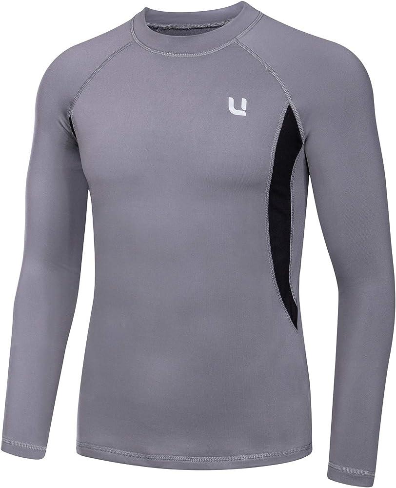 UNIQUEBELLA Suit Esquí Térmica Ropa Interior Térmica Manga Larga Camiseta + Térmica Pantalones Largos, Deportes de Invierno, Conjuntos térmicos para Hombre: Amazon.es: Ropa y accesorios