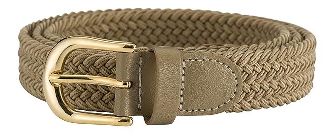 609c5878460 Streeze ceinture élastique pour femmes. 5 tailles. Extensible et tressée.  25 mm de