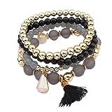 Amazon Price History for:Susenstone®Women Multilayer Beads ,Bangle Bracelets