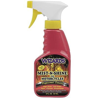 Wizards 22208 Mist-N-Shine Motorcycle Professional Detailer - 8 oz.: Automotive
