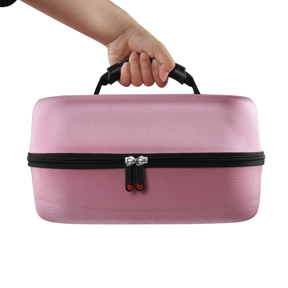 Hermitshell Hard EVA Travel Pink Case Fits Spectra Baby USA S2 Double//Single Breast Pump 3.3 Pound