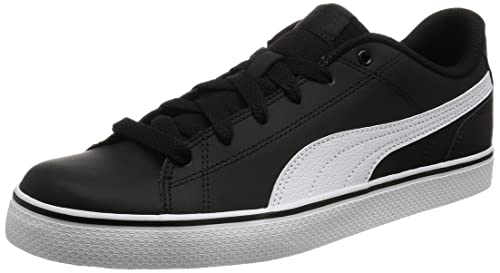 more photos 4a4f3 8b5a5 Unisex s Court Point Vulc v2t Black White Sneakers-10 (36294602)