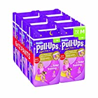 Huggies Pull Ups Night-Time Potty Training Pants for Girls, Large (60 Pants Total)