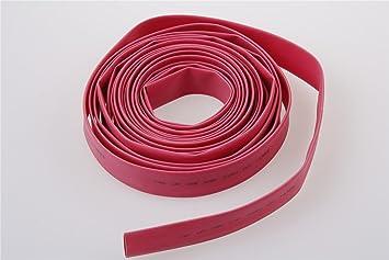 10M 32.8ft 10mm Diameter Heat Shrinkable Tube Shrink Tubing Red