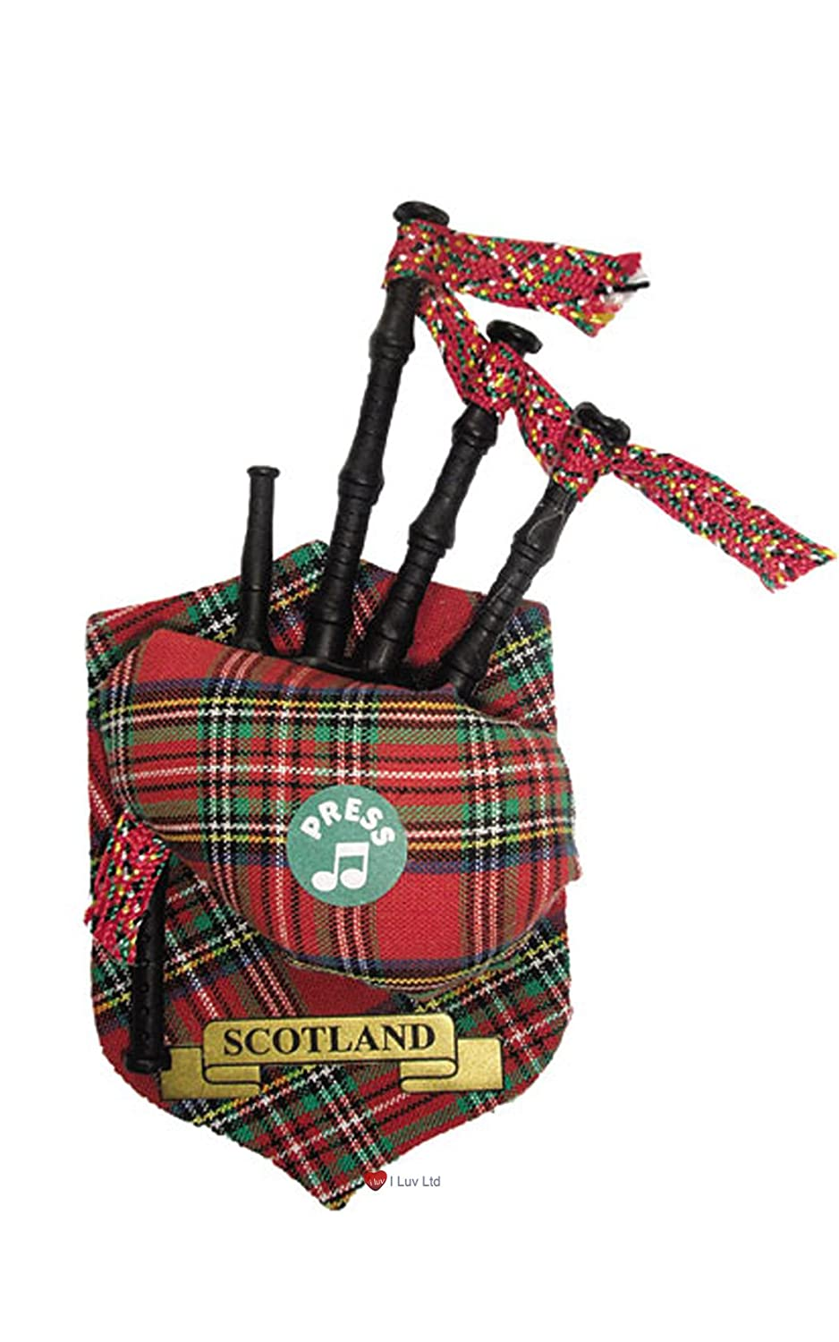 scotland tartan musical fridge magnet amazon co uk kitchen u0026 home