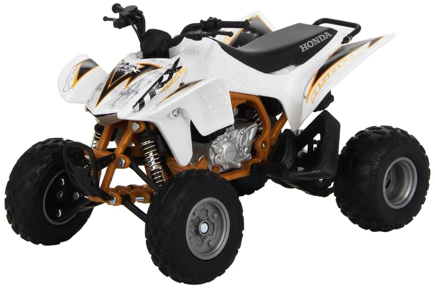 New Ray Honda TRX450R Model - 1:12 Scale/White