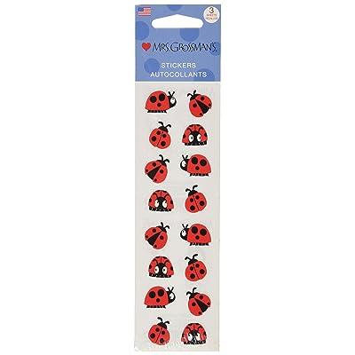 Mrs Grossman Stickers-Chubby Ladybugs: Arts, Crafts & Sewing [5Bkhe2006646]