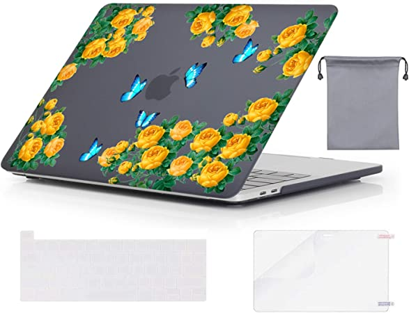 Transparent Abstract Faces MacBook Case MacBook Pro 13 Case MacBook Air 13 2020 Case Art MacBook Cover Laptop Case MacBook Pro 16 Pro Retina