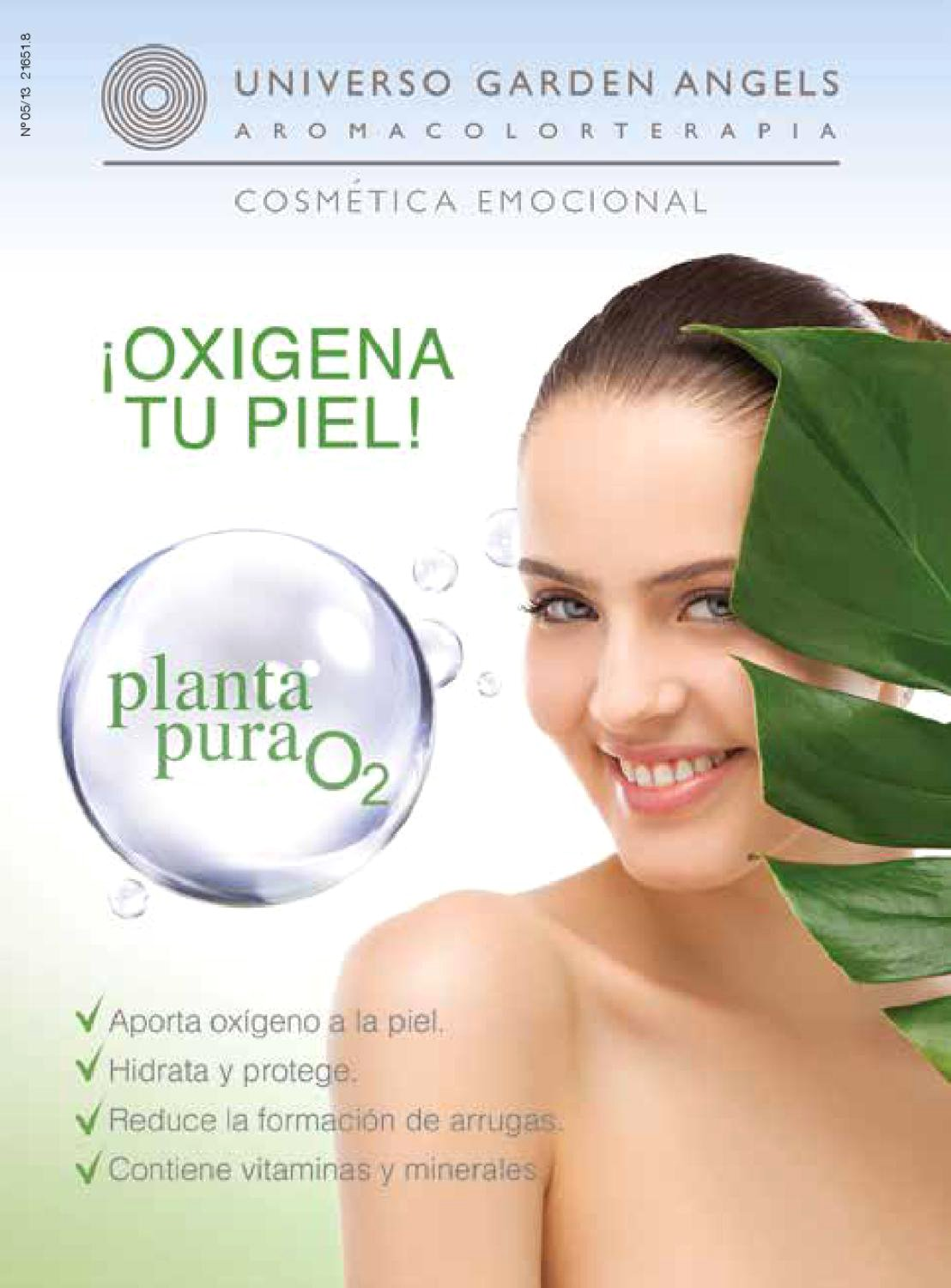Amazon.com: UNIVERSO GARDEN ANGELS Planta Pura - Oxygen Multi Perfection Serum Protector Antioxidante (Oxygen Serum): Beauty